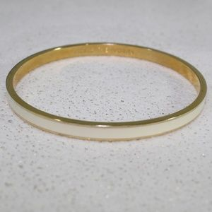Kate Spade Ivory Gold Tickle the Ivories Bangle